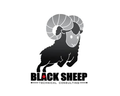 black sheep designs black sheep technical consulting logo design contest logo designs by keyart10