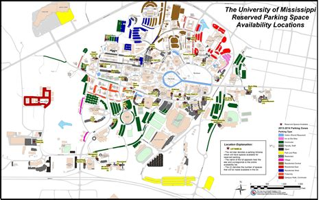 ole miss cus map parking registration opens july 1 ole miss news