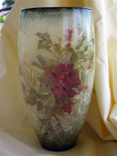 Decoupage Vase Ideas - 510 best images about vidros on