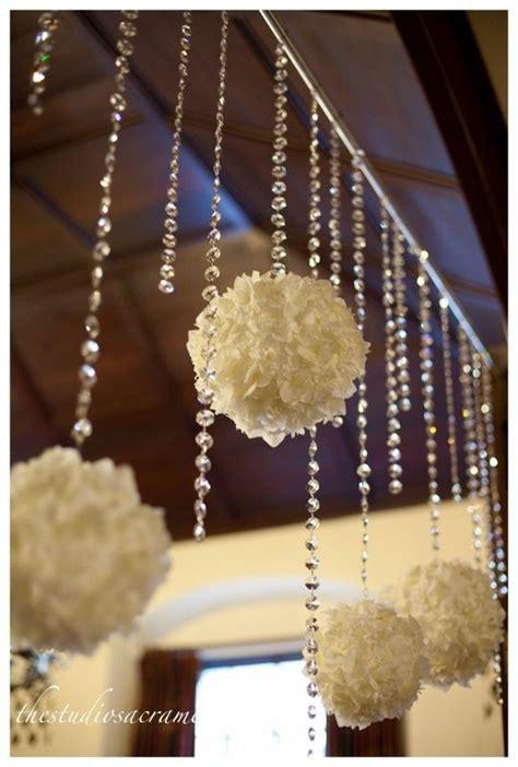diy wedding entrance ideas backdrops entrance and tissue poms