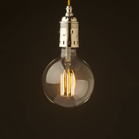 Edison Bulb Pendant Lights Edison Style Light Bulb E40 Nickel Pendant