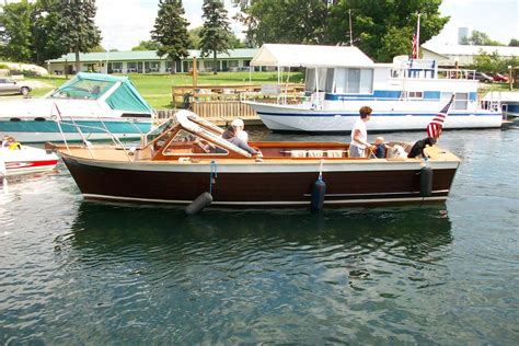 Sleeper Boats by 1967 Lyman Sleeper Wellesley Island New York Boats