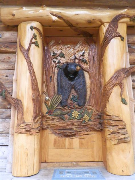 Door Frame Carving Designs by 17 Best Ideas About Cabin Doors On Lake House