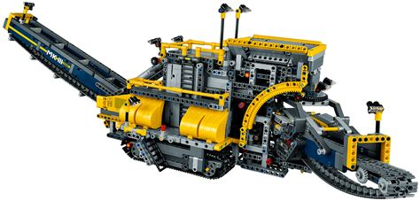 technic bucket wheel excavator s largest technic set can dig a moat around your home