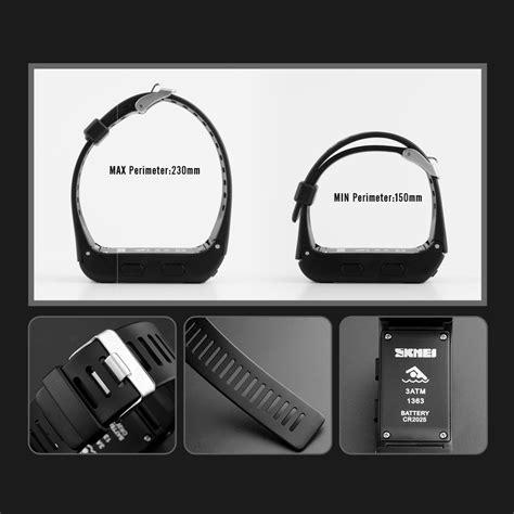 Jam Tangan Pedometer skmei jam tangan digital sport pedometer kalori 1363
