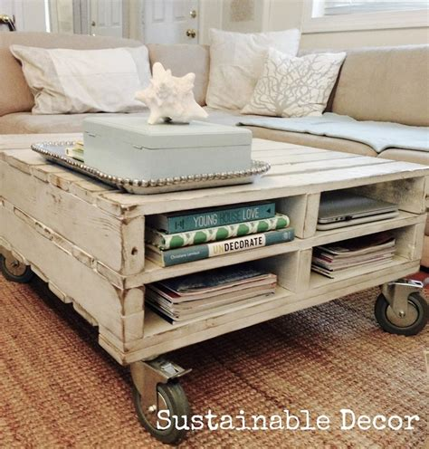 Shipping Pallet Coffee Table How To Projects Pallet Coffee Table The Snug