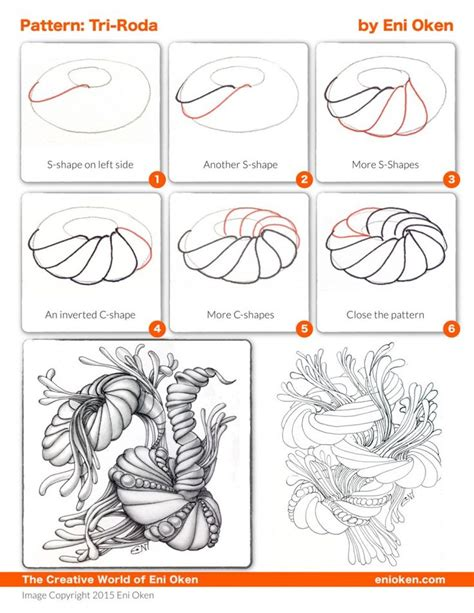 doodle pattern tutorial 1000 images about zentangles patterns and zia on