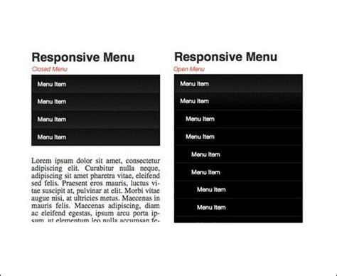 responsive layout menu to drop down 17 responsive menu tutorials with free scripts