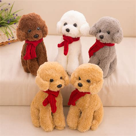 30cm one sitting teddy with scanf pp cotton plush toys soft simulation dogs doll