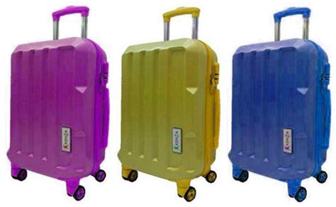 Koper Kenza 20 Purple jual kenza koper 20 quot kz8008 purple murah bhinneka