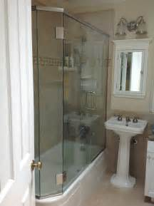 trackless shower doors showcase shower door