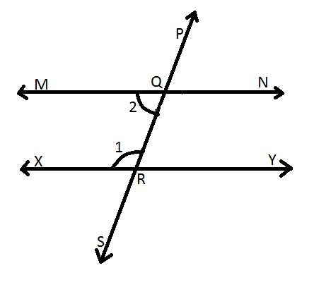 supplementary lines important axioms and theorems transversal and parallel
