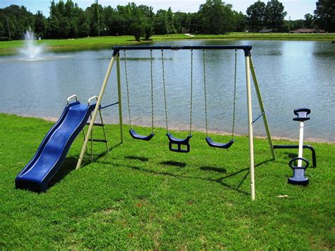 flexible flyer backyard swingin fun metal swing set flexible flyer backyard in fun metal set 28 images new