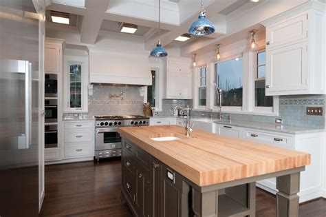 butcher block kitchen island traditional kitchen butcher block island for traditional kitchen with glass