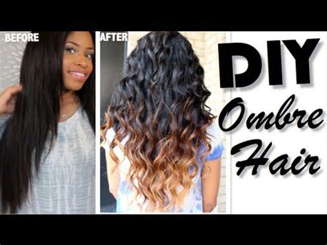 how to ombre hair diy