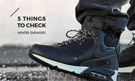 sneakers for winter best winter sneakers for highsnobiety