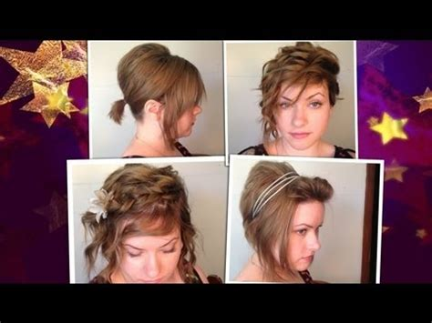 need to have short hair for work 4 easy school work hairstyles for short hair youtube