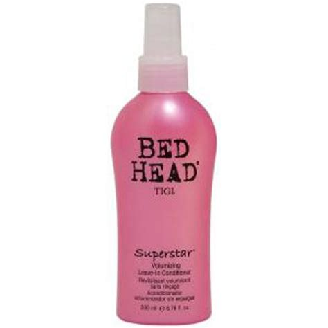 bed head conditioner tigi bed head superstar leave in conditioner 200ml free shipping reviews