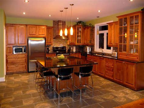 cuisine cognac armoire de cuisine en bois erable maison moderne