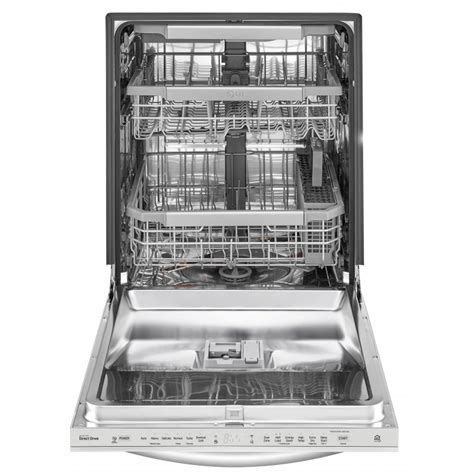 lg ldt7797st top dishwasher with quadwash and