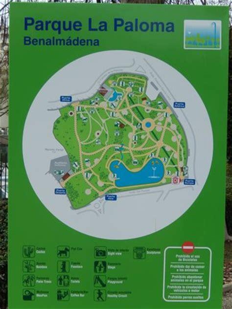 layout it opiniones foto de parque de la paloma benalm 225 dena map of the park