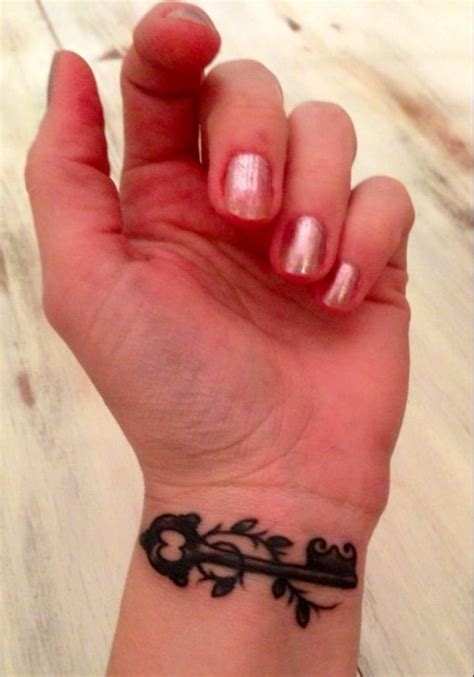 key tattoos on wrist 77 fantastic wrist key tattoos design
