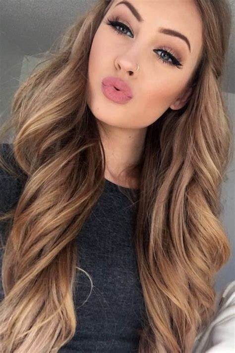 pics of hair colours that fits dark skinned women pics light brown hair color shades to look gorgeous fashion daily
