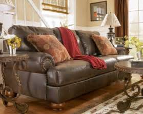 Use a leather chair to create a rustic living room furniture pictures