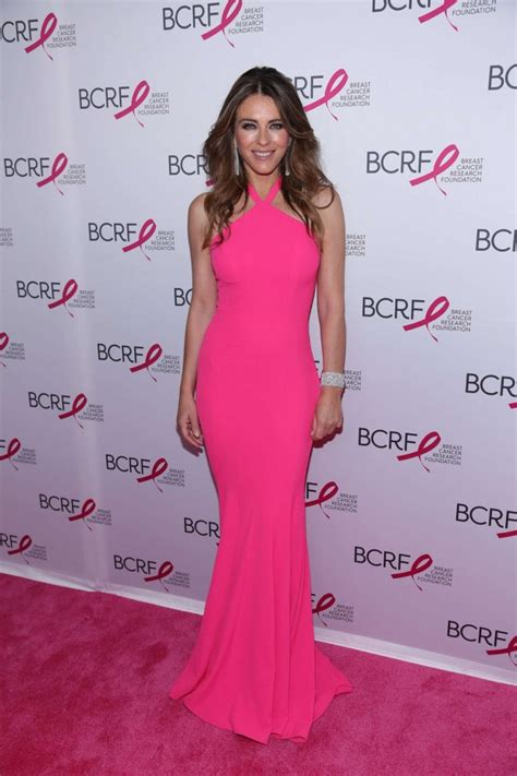 Which Elizabeth Hurley Breast Cancer Pink Frock Is Most Fab by Elizabeth Hurley 2016 Breast Cancer Research Foundation
