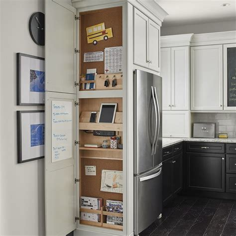 are kraftmaid cabinets good quality message center kraftmaid kitchens pinterest