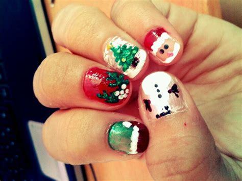fotos uñas decoradas navidad fotos de uas pintadas con dibujos best remolino de