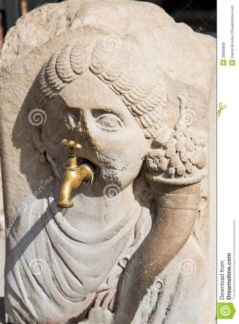 Pompeii Plumbing by Modern Plumbing In Ancient Pompeii Wall Royalty Free Stock Photo Image 38000835
