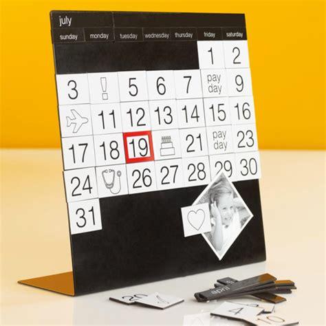 Magnadate Calendar Contemporary Desk Accessories By Modern Desk Calendar