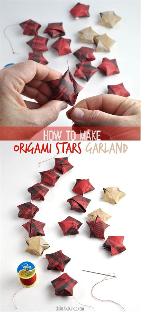 How To Make A Paper Garland - 1000 images about upcycle crafting on crafts