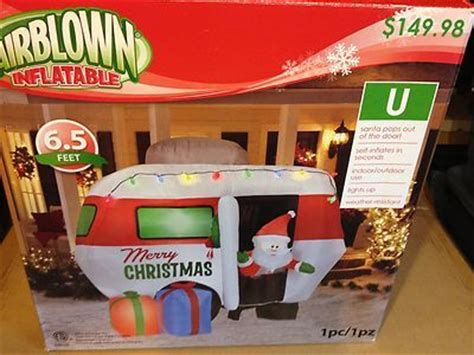gemmy 6 inflatable santa in rv 87076 fantastic beasts and where to find them dvd digital hd cers motorhome and