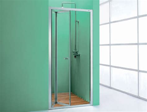 Shower Door Opening Nabis Bi Fold Shower Door And Optional Side Panel