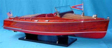 buy wooden chris craft runabout limited  model ships
