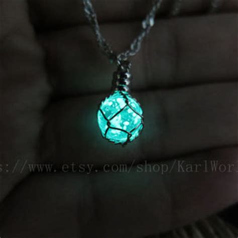 how to make glow in the jewelry karlworldart on etsy on wanelo