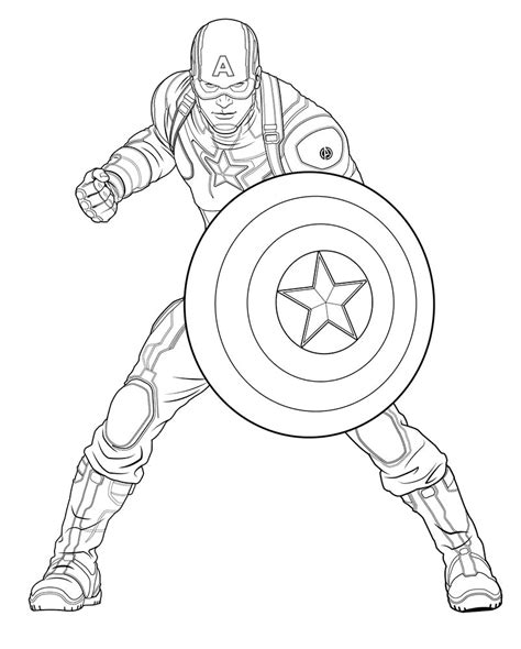coloring pages for captain america free avengers age of ultron printable coloring sheets