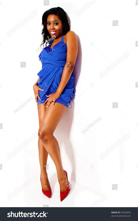 name of black women in blue dress in viagra commercial sexy black woman wearing blue dress stock photo 65450992