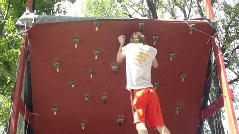 backyard bouldering wall homemade backyard bouldering rock climbing wall youtube