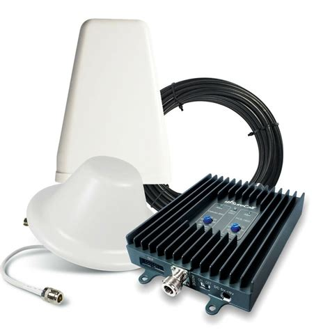 surecall flexpro 3g home office cell phone signal booster w yagi dome antenna ebay