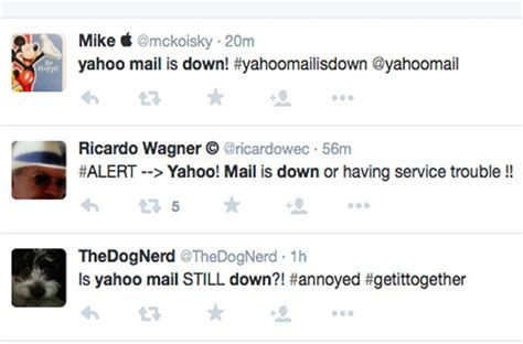 email yahoo problem yahoo mail server problems testing patience product
