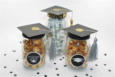 Graduation Party Giveaways - diy graduation mason jar party gifts favors free printable