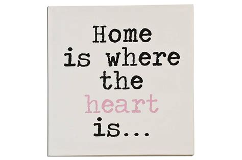 Home Is Where The Is by Wandbild Home Is Where The Is Vintage Shabby Schild