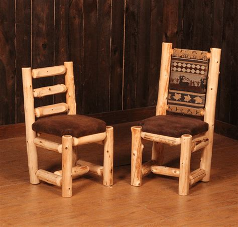 Log Dining Room Furniture Log Dining Room Furniture