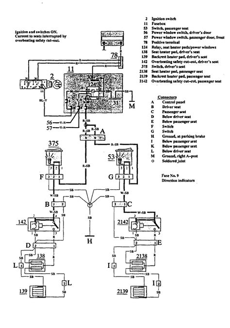 volvo   wiring diagrams heated seats carknowledge