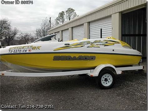 used sea doo boats for sale by owner 1999 sea doo speedster sk used boats for sale by owners