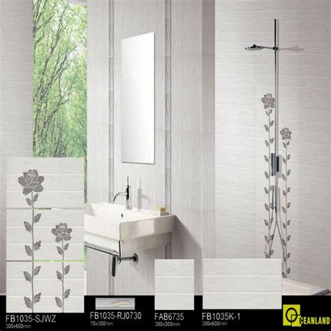 fabbrica di piastrelle foshan fabbrica bagno bianco ceramica pavimento di