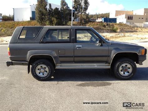 1987 Toyota Specs 1987 Toyota 4 Runner Car Photo And Specs